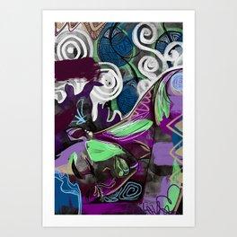 Keeyah Art Print