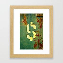 Big Bucks Framed Art Print