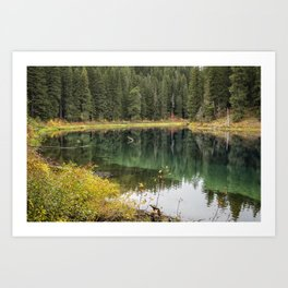 Clear Lake Fall 2018, No. 1 Art Print
