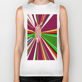 A burst of hope Biker Tank