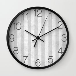 Stripes Collection: New Year Wall Clock