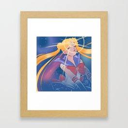 Sailor Moon Transformation 2 Framed Art Print