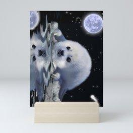Destiny - Harp Seal Pup & Ice Floe Mini Art Print