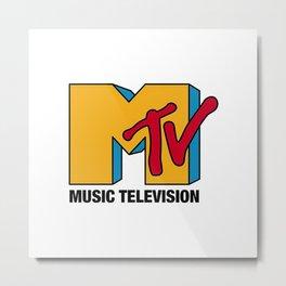 MTV Classic Logo Metal Print