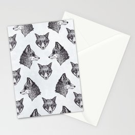 Mrs Fox Design B&W Stationery Cards