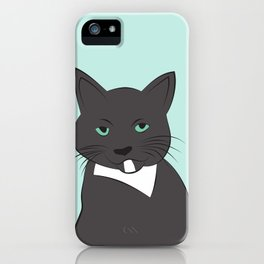 Meow, meow. iPhone Case