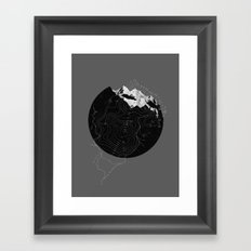 Topos Framed Art Print