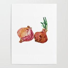 Deux Oignons Poster