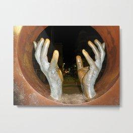 Hands of Spain Metal Print