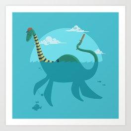 "Loch""Ness"" Monster Art Print"