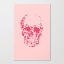 Mr. Skull Canvas Print