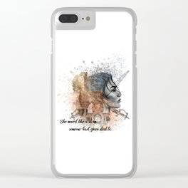 Rebel of the Sands (Shazad) Clear iPhone Case