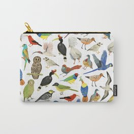 Endangered Birds Around the World Carry-All Pouch