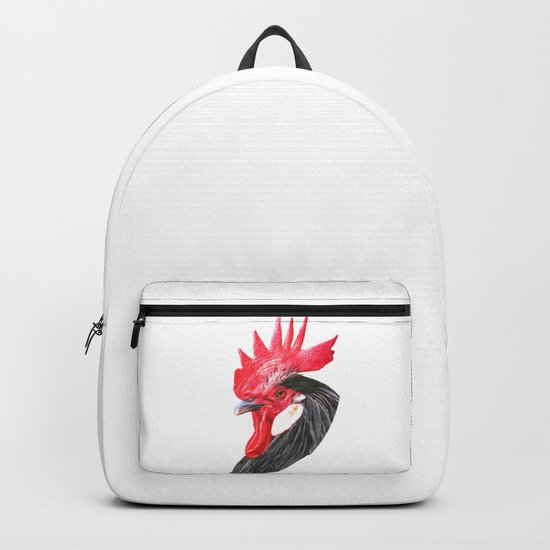 Rooster Portrait by alemi