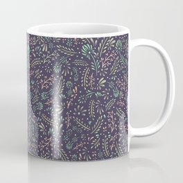 Pastel Flower Ditsy Pattern Coffee Mug