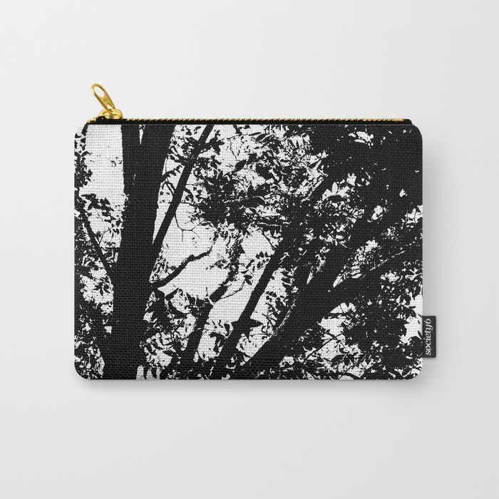 Pecan Tree Silhouette Carry-All Pouch