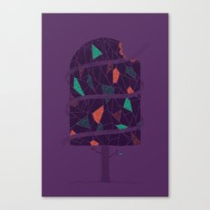 Tasty Tree Canvas Print