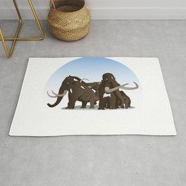 Mammoth Family Rug
