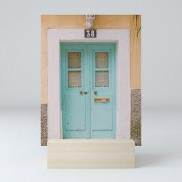 Mint Door Mini Art Print