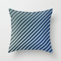 stripes Throw Pillows featuring Stripes by David Zydd