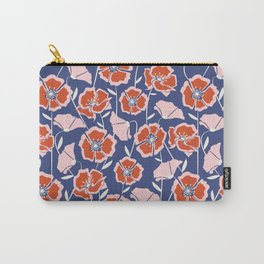 Poppin Poppies Carry-All Pouch