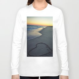Heart in the Sand Long Sleeve T-shirt