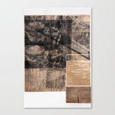 WOOD/ PAPER Canvas Print