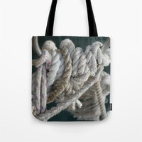 nautical Tote Bags featuring Nautical by Marietta Dc Fameli