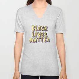 Black Lives Matter Unisex V-Neck