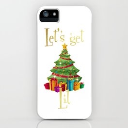 Christmas Lit! iPhone Case