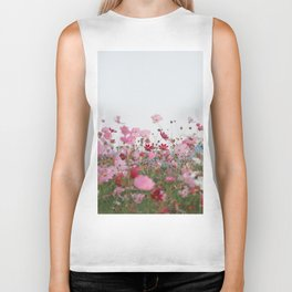 Flower photography by MIO ITO Biker Tank