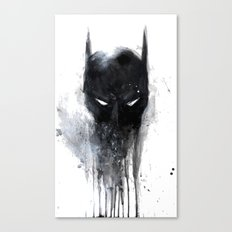 Bat Man fan art Canvas Print