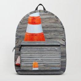 Warning Cone Backpack