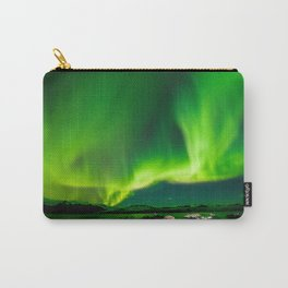 Iceland Northern Lights Carry-All Pouch