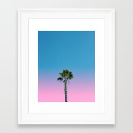 Hey Framed Art Print