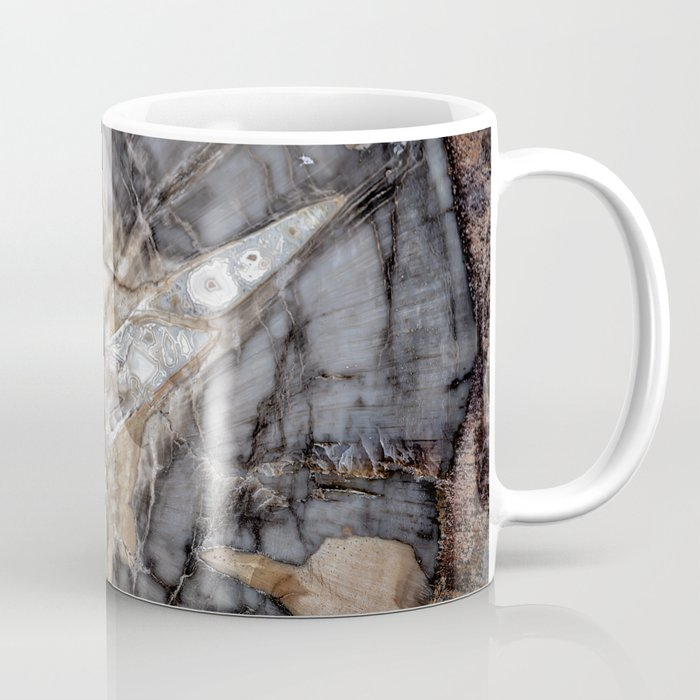 Petrified wood 3264 Coffee Mug