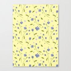 Botanical Print (Hound's Tongue)  Canvas Print