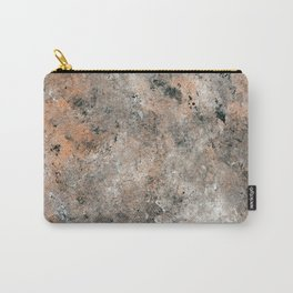 Black and Bronze Abstract Carry-All Pouch
