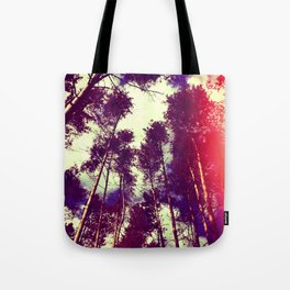 There is a pleasure in the pathless woods... Tote Bag