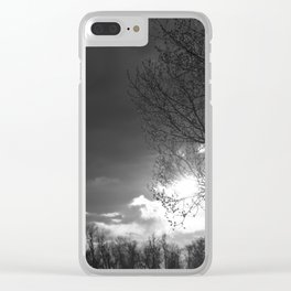 Someone's Sun Has Set Clear iPhone Case
