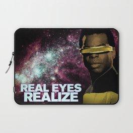 Geordi: Real Eyes Realize Laptop Sleeve