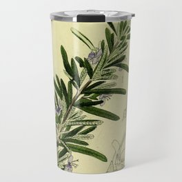 Botanical Rosemary Travel Mug