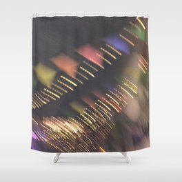 Lights and Pennants Shower Curtain