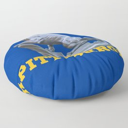 Pittsburgh Panther Print Floor Pillow