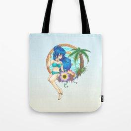 Moon in Summer Tote Bag