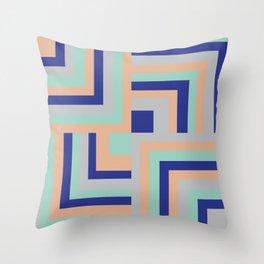 Four Squared Throw Pillow
