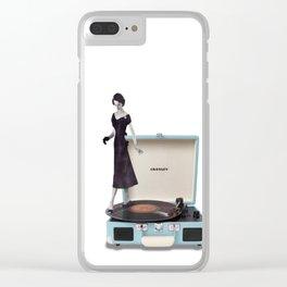 tu mi fai girar Clear iPhone Case