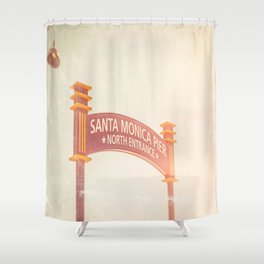 Walk Here Shower Curtain