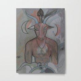 BAPHOMET 2 Metal Print