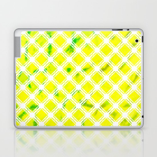 Lattice Lime Laptop & iPad Skin